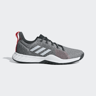 Solar LT Trainers Grey / Ftwr White / Shock Red BB7240