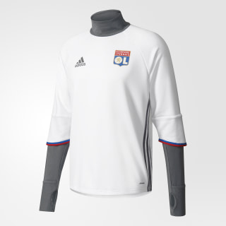 Olympique Lyon Training Top White / Vista Grey / Red / Master Blue AP1418