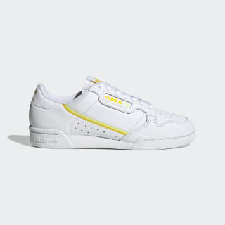 Tenis Continental 80 Cloud White / Yellow / Semi Frozen Yellow EE5561