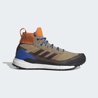 Terrex Free Hiker Hiking Schoenen Tech Copper / Core Black / Blue EF0773