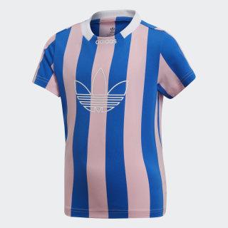 Playera Stripes True Pink / Blue DV2869