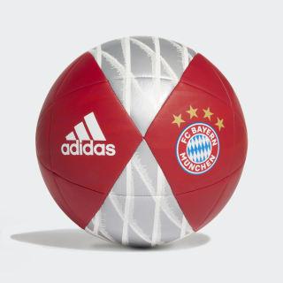 Balón FC Bayern Capitano FCB TRUE RED/red/white/silver met. DY2526