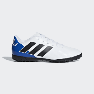 Zapatos de Fútbol Nemeziz Messi Tango 18.4 Césped Artificial FTWR WHITE/CORE BLACK/FOOTBALL BLUE DB2401