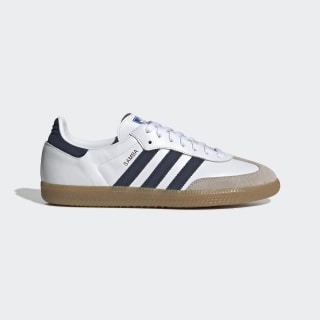 Samba OG Shoes Cloud White / Collegiate Navy / Blue EE5450