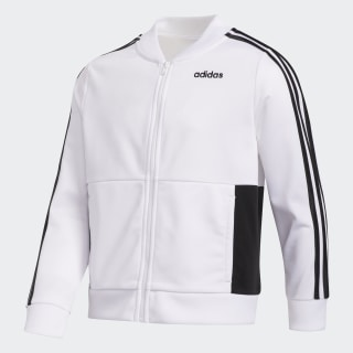 Logo Tricot Jacket White CM7125