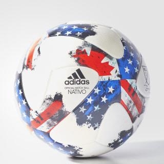 MLS Official Match Ball White / Red / Blue AZ3208