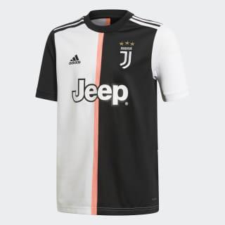 Camiseta Uniforme Titular Juventus Black / White DW5453