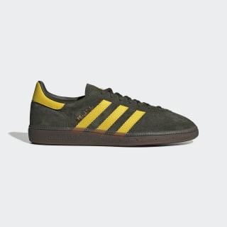Handball Spezial Schuh Night Cargo / Tribe Yellow / Gum EF5748