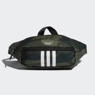 National 3-Stripes Waist Pack Medium Green CM4515
