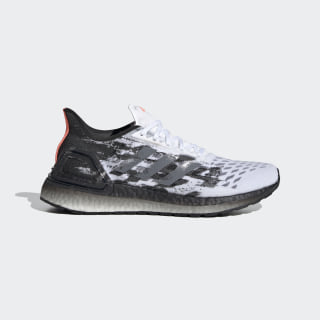 Ultraboost PB Schuh Cloud White / Grey Three / Core Black EG0422