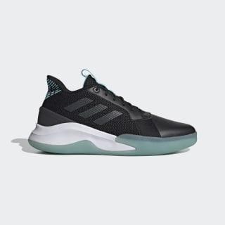RunTheGame Shoes Core Black / Grey Six / Bright Cyan EG0983