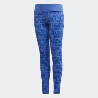 Calzas Training Brand HI-RES BLUE S18/MYSTERY INK F17 DJ1088