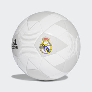 Pelota Real Madrid 2018 CREAM WHITE/GREY ONE F17/BLACK CW4156