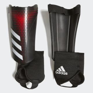 Caneleiras Predator 20 Match Black / Active Red FL1392