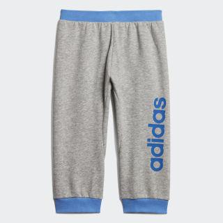 Pants I Lin medium grey heather/blue EI7916