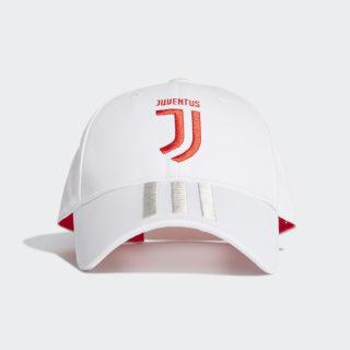 Casquette Juventus 3-Stripes Core White / Raw White / Hi-Res Red EA0470