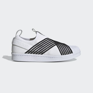 Superstar Slip-On Shoes Cloud White / Core Black / Raw Indigo CG6013