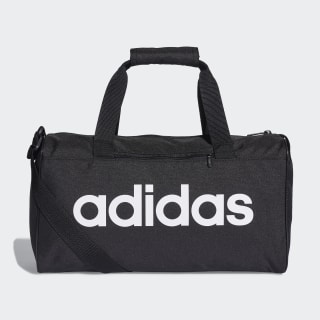Linear Core Duffel Çanta Black / Black / White DT4818