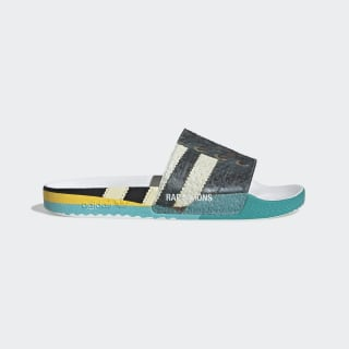 Chinelo Rs Samba Adilette Core Black / Ftwr White / Bright Blue EE7959