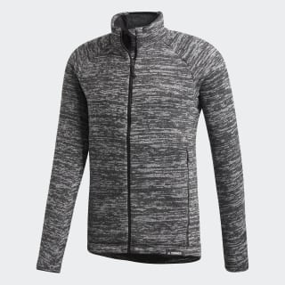Casaco em Fleece Dark Grey Heather CY8704