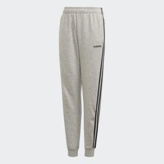 Calças 3-Stripes Essentials Medium Grey Heather / Black DV1801