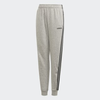 Pantalón Essentials 3 Rayas Medium Grey Heather / Black DV1801