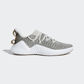 Zapatilla Alphabounce Grey /  Ftwr White  /  Raw Desert D96705