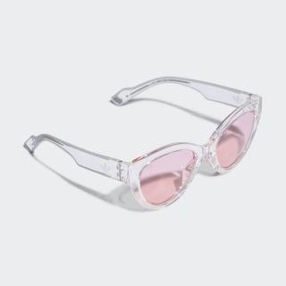 AOG000 Sunglasses Crystal White / Crystal White / Aero Pink CK4123