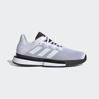 Кроссовки для тенниса SoleMatch Bounce ftwr white / ftwr white / core black G26602