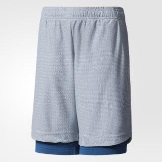 Pantaloneta ID Dos-en-Uno BLUE NIGHT F17/GREY TWO F17 CF2201