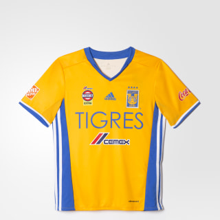 Jersey Local Tigres UANL 2016/2017 Niños COLLEGIATE GOLD/BLUE/WHITE AP7516