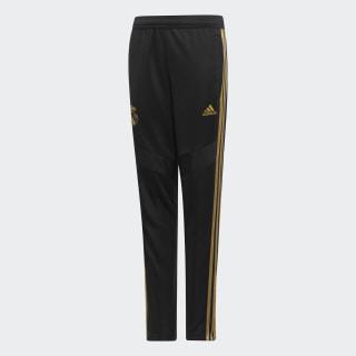 Pantalon d'entraînement Real Madrid Black / Dark Football Gold DX7845