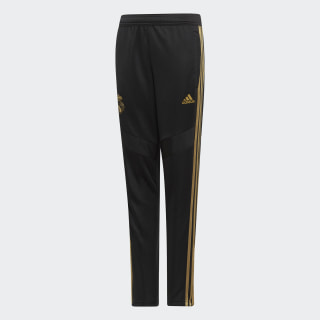 Real Madrid Training Broek Black / Dark Football Gold DX7845