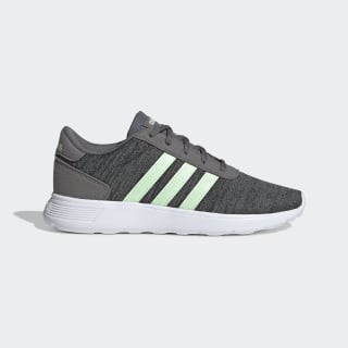 Zapatillas Lite Racer Grey Four / Glow Green / Core Black EE6968