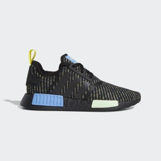 Chaussure NMD_R1 Core Black / Real Blue / Yellow EG7945
