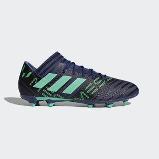 Chaussure Nemeziz Messi 17.3 Terrain souple Unity Ink / Hi-Res Green / Core Black CP9038