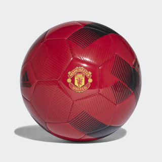 Pelota Manchester United REAL RED/BLACK/POWER RED CW4154
