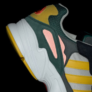 uk availability d33db c7ed0 Yung-96 Shoes Grey One   Bold Gold   Solar Red DB2605