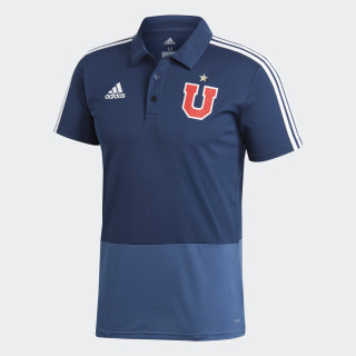 Polera Polera Polo Universidad de Chile Collegiate Navy / Night Marine / White CG1417