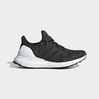 UltraBOOST J Core Black / Ftwr White / Active Red F34719