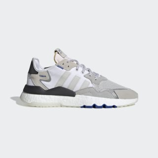 รองเท้า Nite Jogger Grey Two / Cloud White / Power Blue EG2715