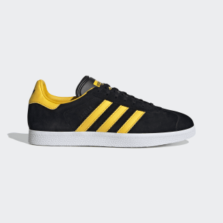 Zapatilla Gazelle Core Black / Bold Gold / Cloud White FV3264