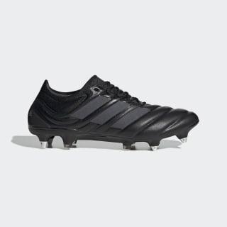 Bota de fútbol Copa 19.1 césped natural húmedo Core Black / Core Black / Silver Met. EF9027
