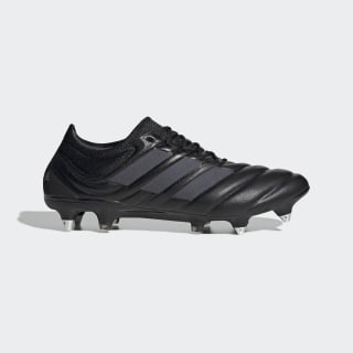 Scarpe da calcio Copa 19.1 Soft Ground Core Black / Core Black / Silver Met. EF9027