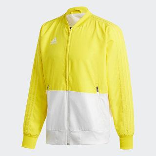 Condivo 18 Presentation Jacket Yellow / White CF4310