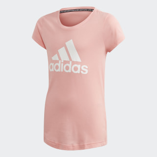 Must Haves Badge of Sport Tee Glory Pink / White FM6512