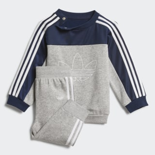 SPRT BB Suit Medium Grey Heather / Collegiate Navy / White FK1960