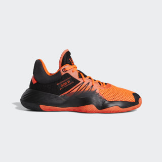 Scarpe D.O.N. Issue #1 Core Black / Solar Red / Solar Red EH2133