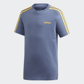 Camiseta Essentials 3 bandas Tech Ink / Active Gold EI7985