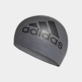 silicone graphic swim cap Grey Five / Black CE9931